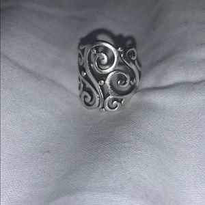 James Avery large Sorrento Ring